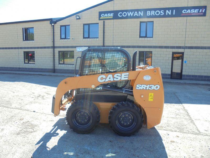 NEW CASE SR130 SKIDSTEER