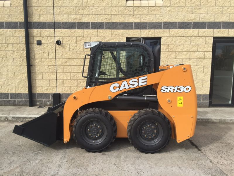 NEW CASE SR130 SKIDSTEER